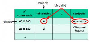 SPLN1 - Variable - individus - Modalités