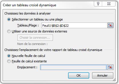 Excel_créer un tableau croisé dynamique