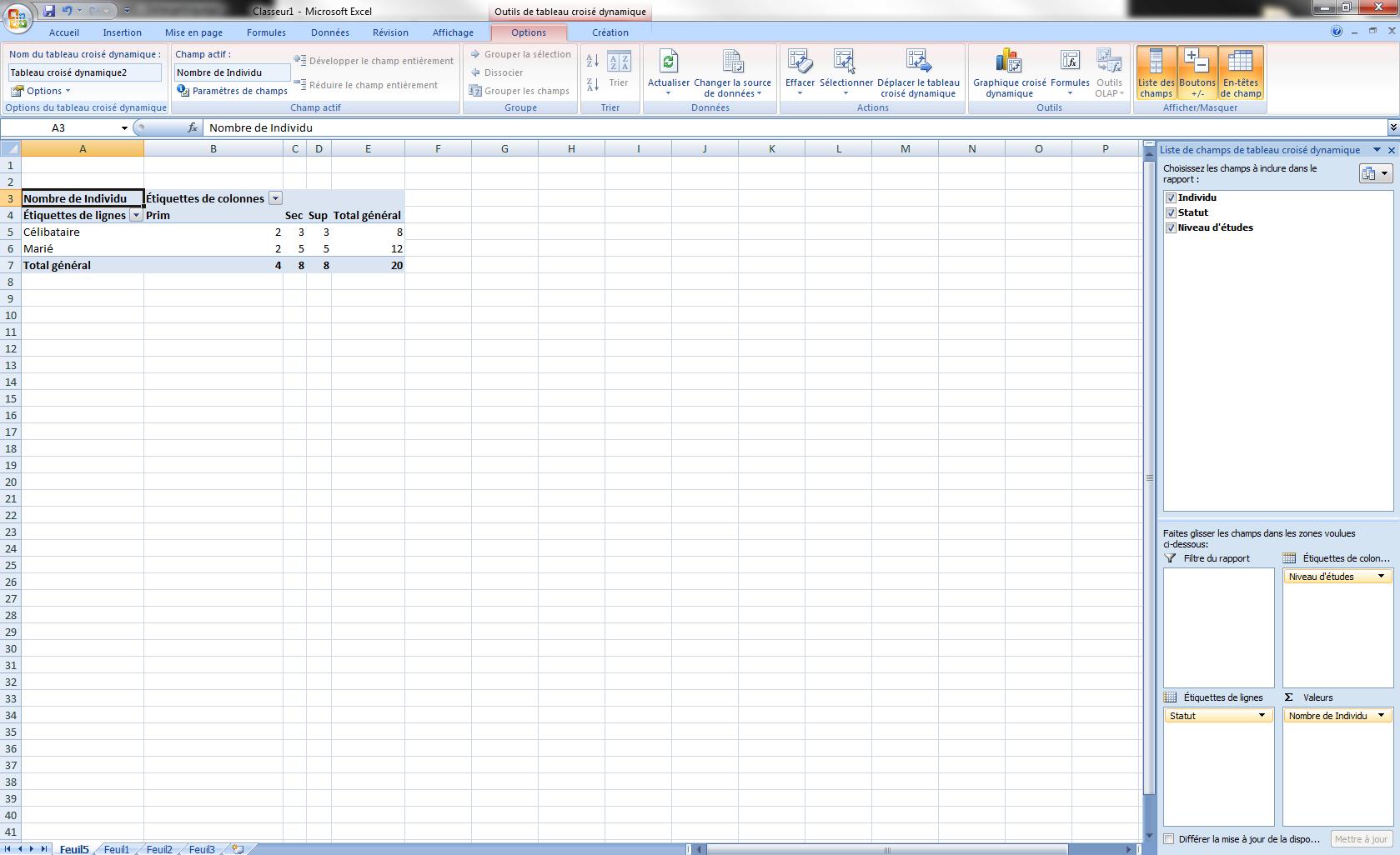 Excel_tableau croisé dynamique